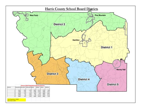School District Map 1-5