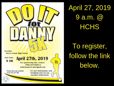 """Do It For Danny"" 5K Registration"